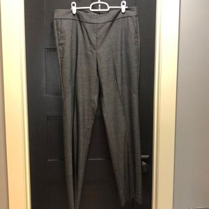 Size 12 Ann Taylor Factory Black Chevron Pants